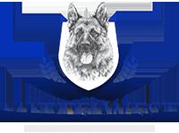 Mittelwest German Shepherds Logo