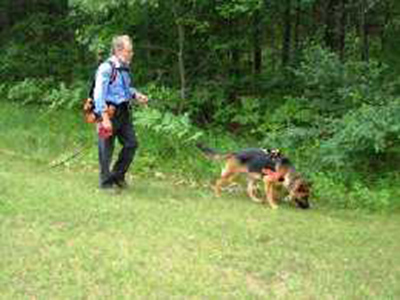 Mittelwest German Shepherds At Search-Rescue & Cadaver Recovery 2