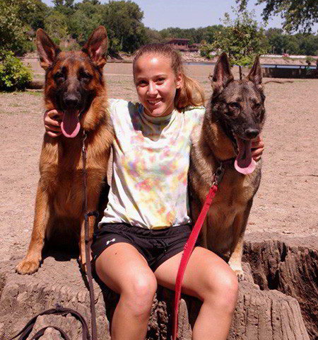 Client Testimonials Of Mittelwest German Shepherds Dale & Samantha